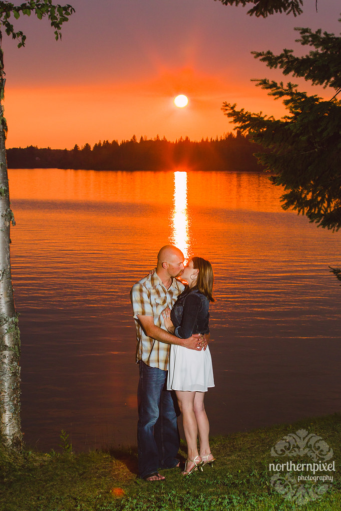 Ness Lake Engagement Session