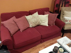 furniture, room, sofa bed, living room, couch, studio couch,