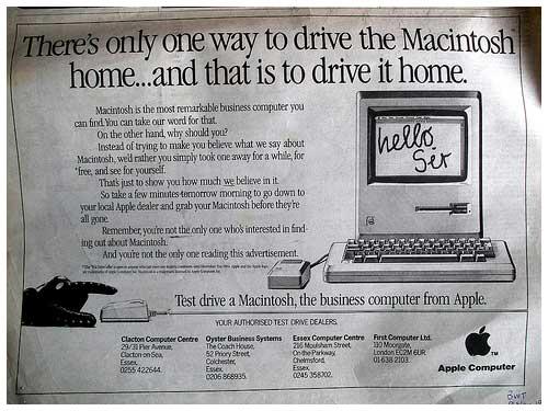 Macintosh广告