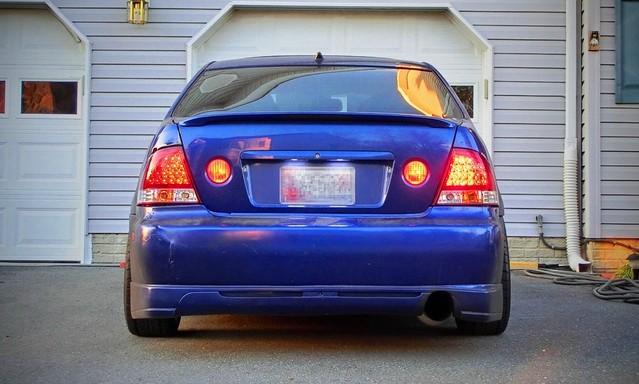 Custom Is300 Led Tail Lights Lexus Is Forum