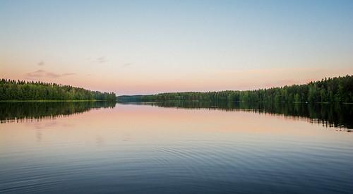 sunset lake holiday suomi finland landscape loma ilta kesä järvi auringonlasku hämeenlinna järvimaisema nikond7100 summer2014 landofthousandlakes
