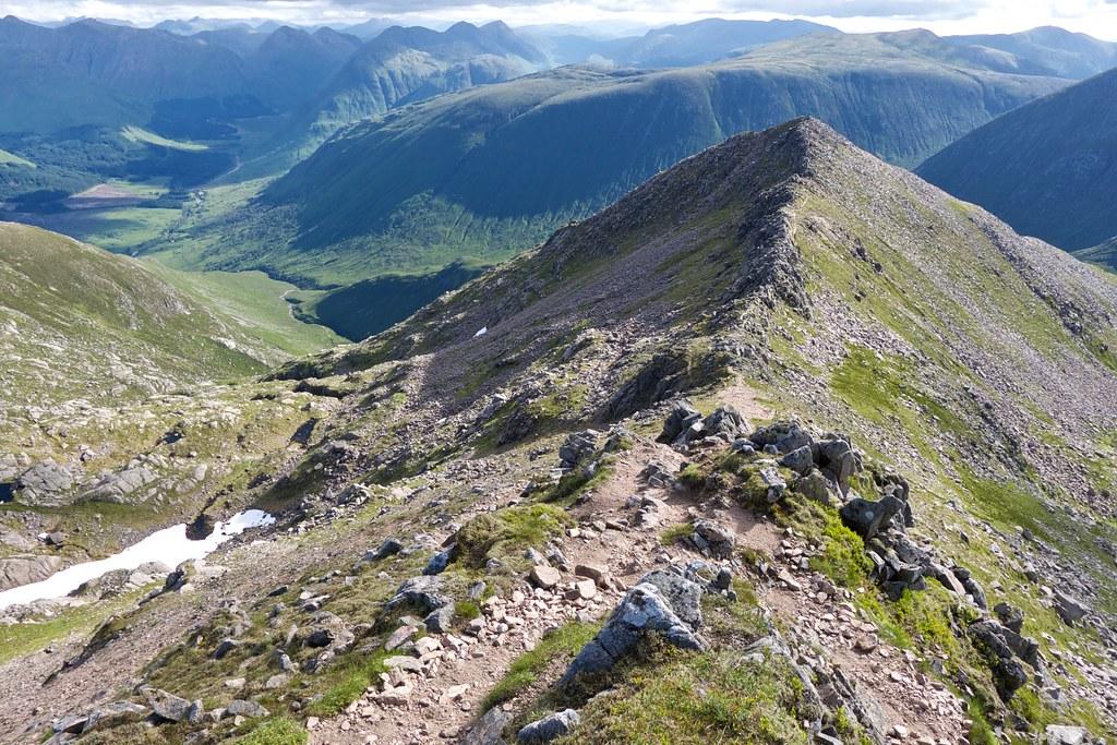 East ridge of Ben Starav