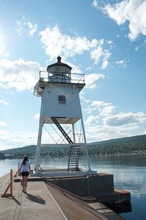 North Shore Trip - Grand Marais Minnesota Lighthouse
