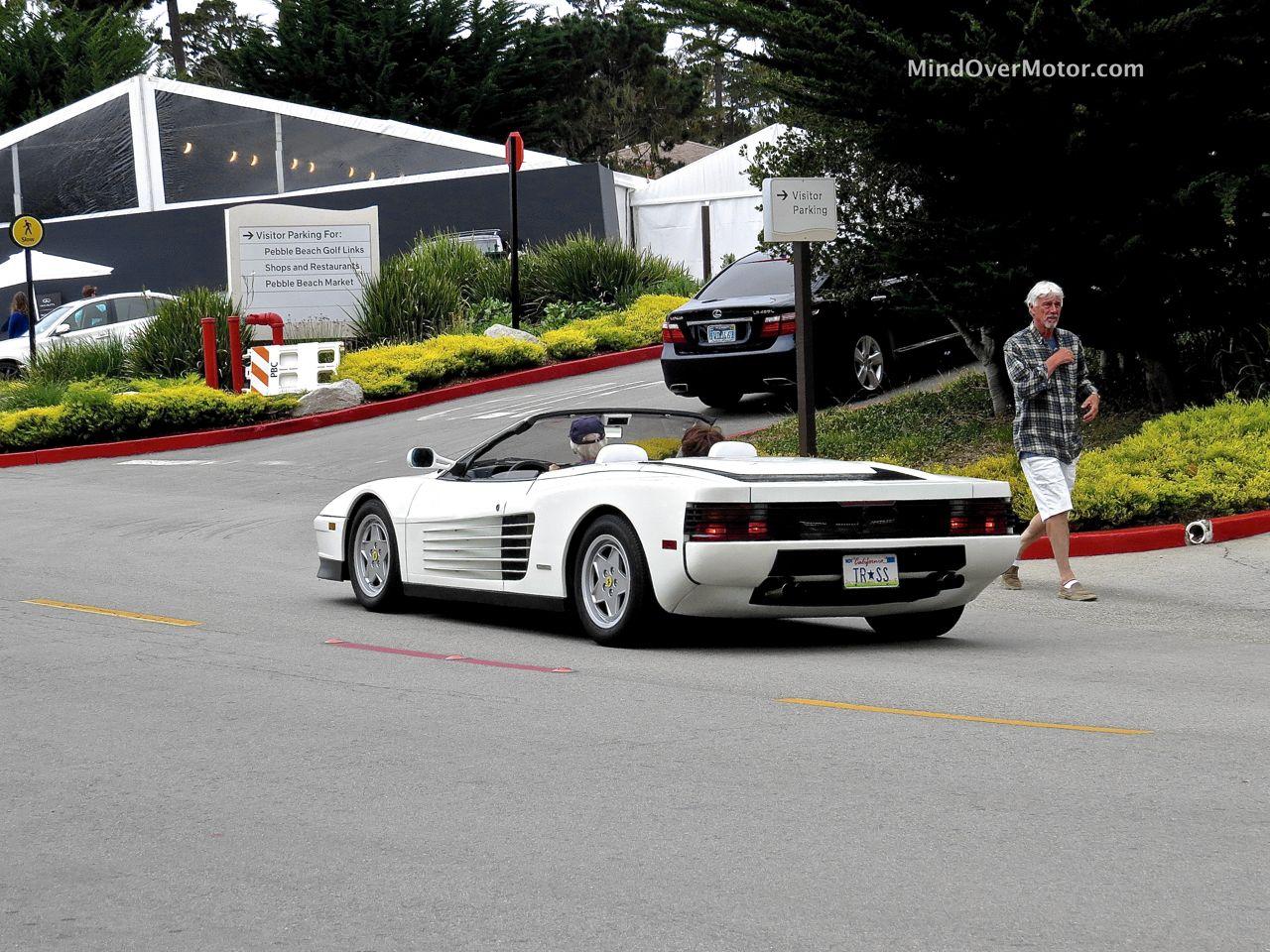 Ferrari Testarossa Spider Rear Angle