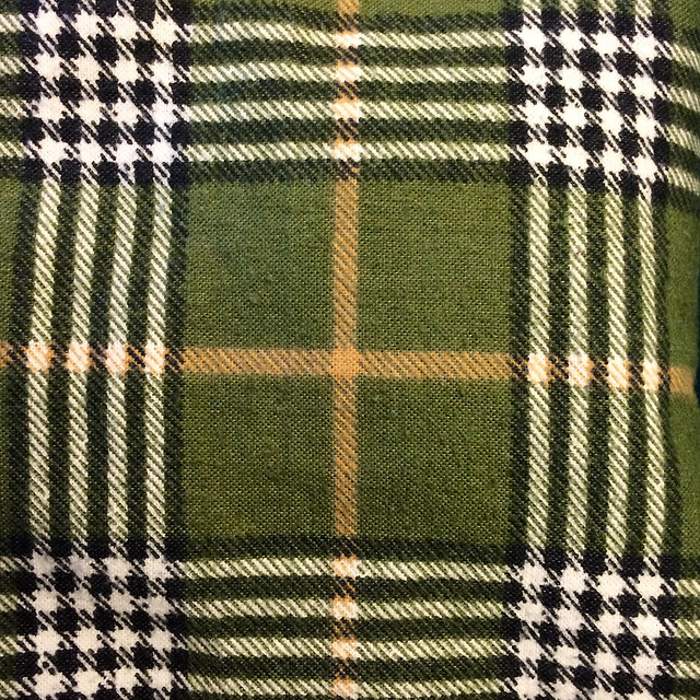 Puke Green Flannel