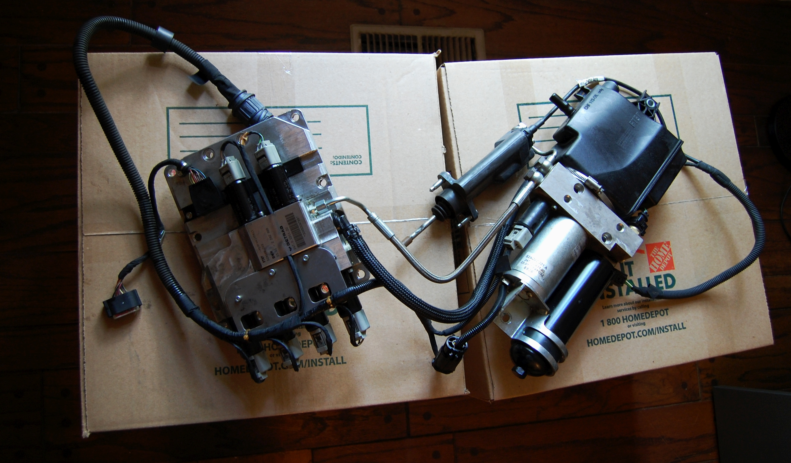 bmw m6 smg pump replacement