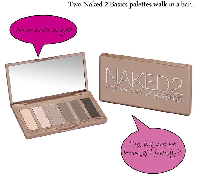 Urban Decay's Naked 2 Basics...is it for the brown girls?