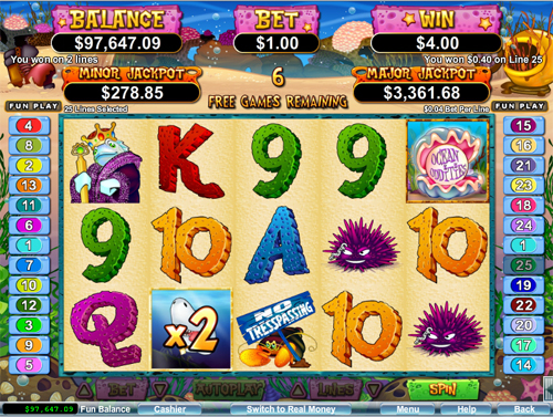 Ocean Oddities Slot Machine - Find Out Where to Play Online
