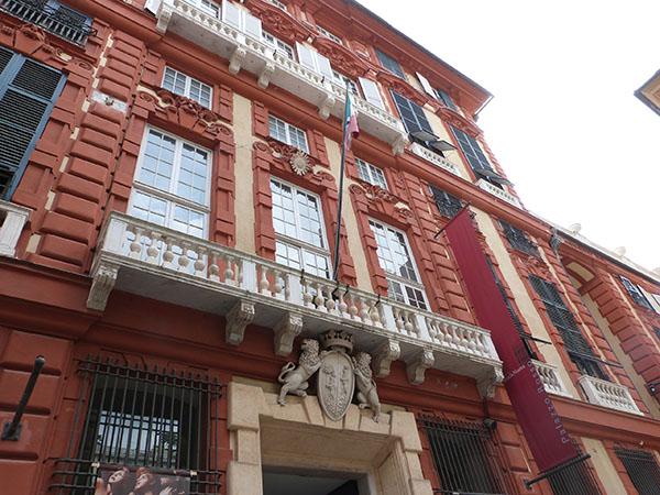 palazzo rosso façade 2