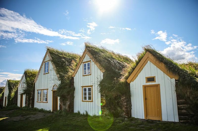 Turf houses at Glaumbær