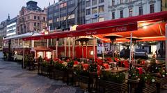 Tram cafe, Prague
