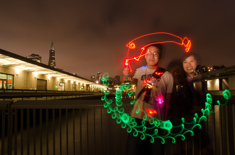 Light Painting - After Dark Science Fiction