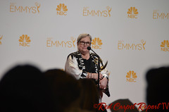 Kathy Bates, American Horror Story: Coven, in the 66th Emmy Awards Media Press Room DSC_0022