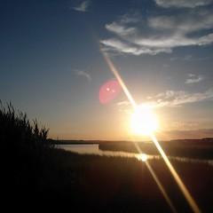 #OCCoolPix Tonight\'s sunset... #ocmd #oceancitycool