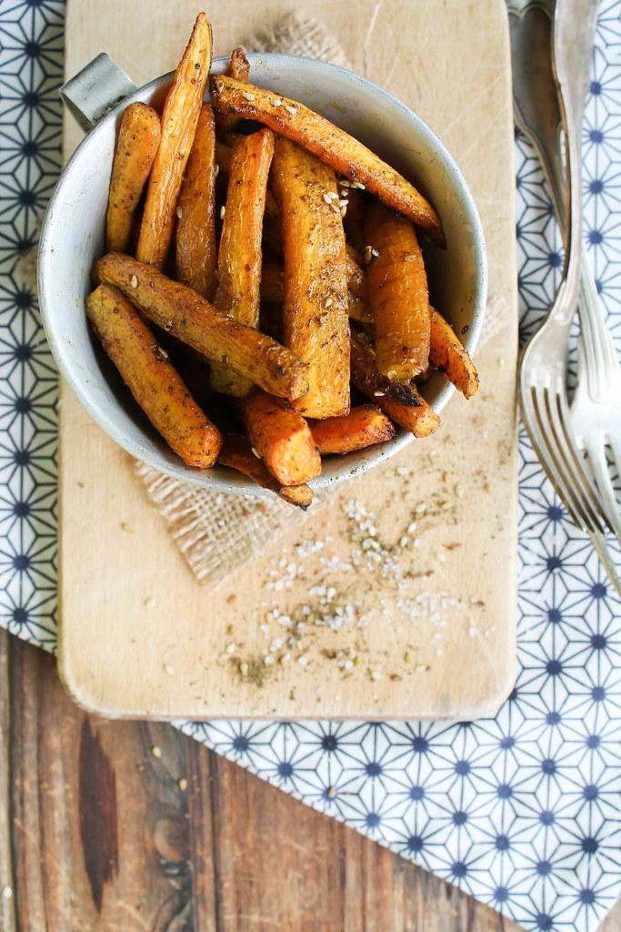 frites de carotte recette