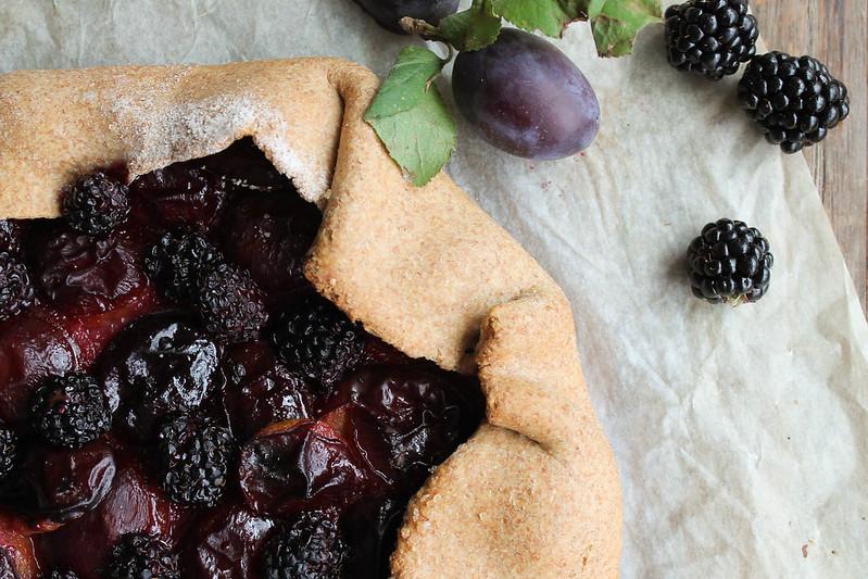 tarte rustique aux prunes recette