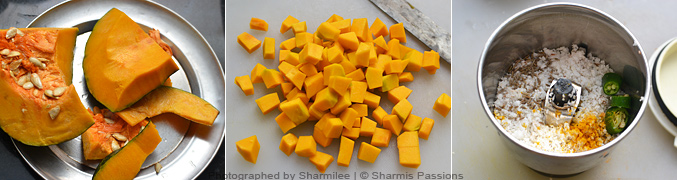 How to make pumpkin eriserry - Step1
