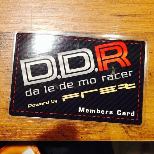 D.D.R Akihabara Member's card