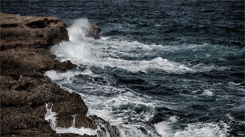 mar agua olas rocas rompeolas sonya77