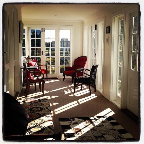 Morning sunlight delight #gleneaglescottageandcabin