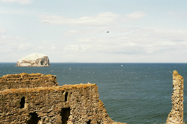 Tantallon Castle | Bass Rock