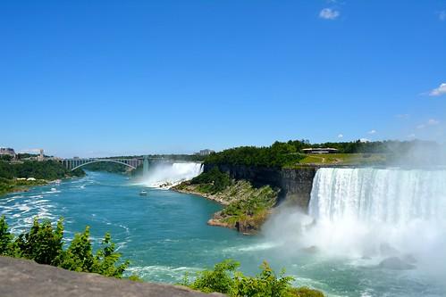blue canada nikon niagra waterfalls