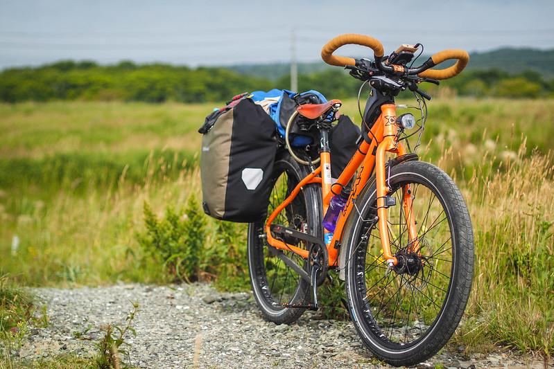 Maxx Bikes Pacemaxx Comfort touring bicycle (Hokkaido, Japan)