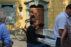 Strassenmusik in Weimar