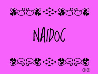Buzzword Bingo: NAIDOC