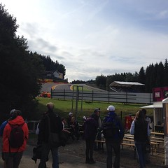 First glimpse of Eau Rouge!!