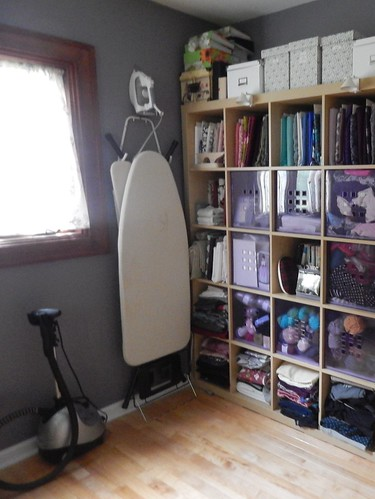 Sewing Room - Expedit and ironing board