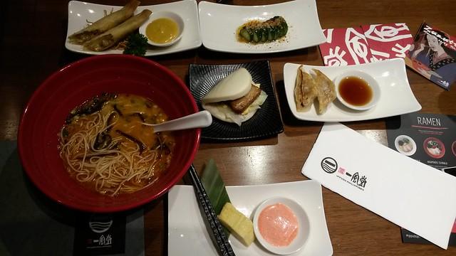 Ippudo dinner