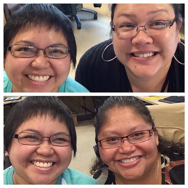 #Selfies with #coworkers. #leiza365 #monopod #werk