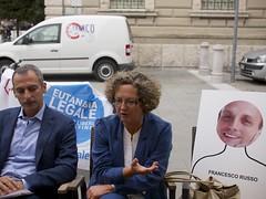 Il sen. Lorenzo Battista, l'on. Tamara Blazina e il sen. Francesco Russo