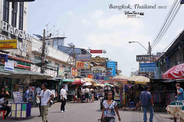 Khao San Road Bangkok Thailand 03