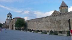 Katedra Svetitskhoveli z V wieku, wpisana na listę dziedzictwa kulturowego UNESCO. Mtskheta - dawna stolica Gruzji.