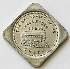 Boston & Maine Y.M.C.A. token reverse
