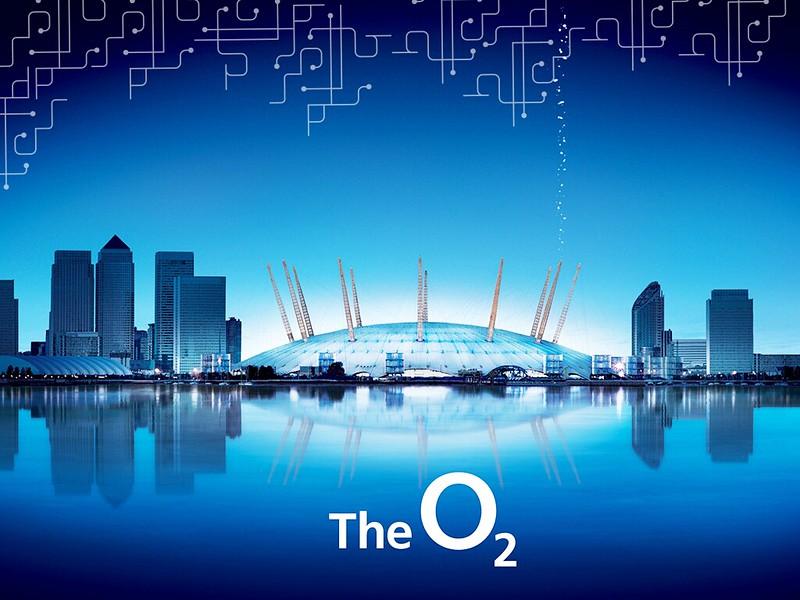 Um dos marcos de Londres, o O2, onde acontecem shows e eventos
