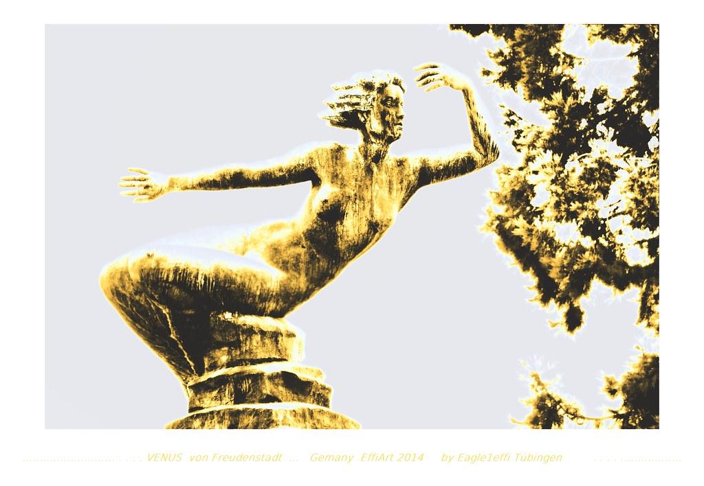 golden VENUS from Freudenstadt