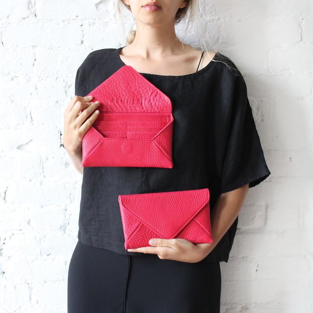 milo wallet - pink