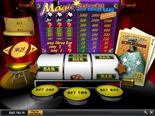 free Magic Slots slot payout