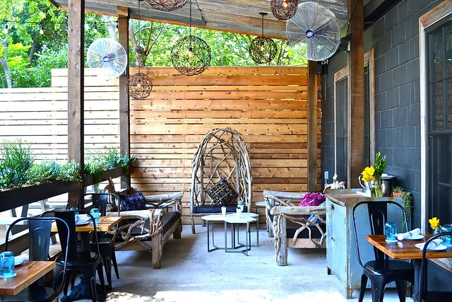 Jacoby's outdoor space