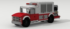 Brush Fire Truck