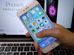 本日のiPhone 6