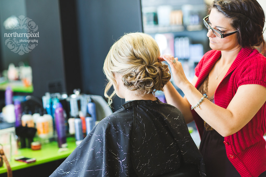 Wedding Hair & Makeup at the Razor's Edge