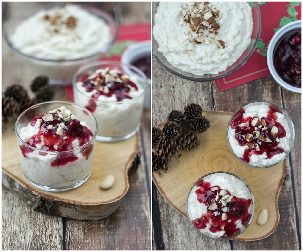 recipe for homemade risalamande danish rice dessert for christmas