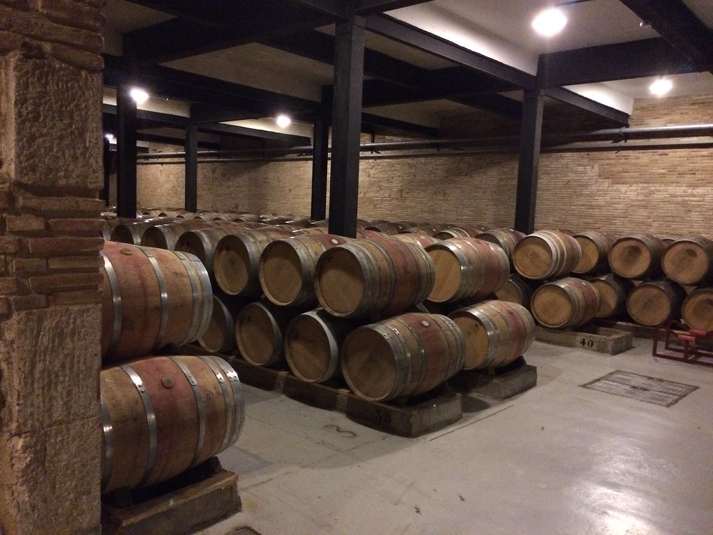 Guided tour in the winery Franco-Españolas
