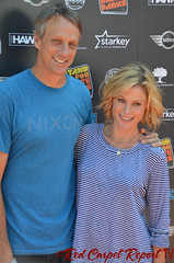 Tony Hawk & Julie Bowen - DSC_0135