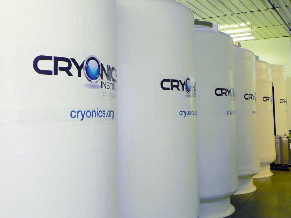 Technology For Life (Cryonics)