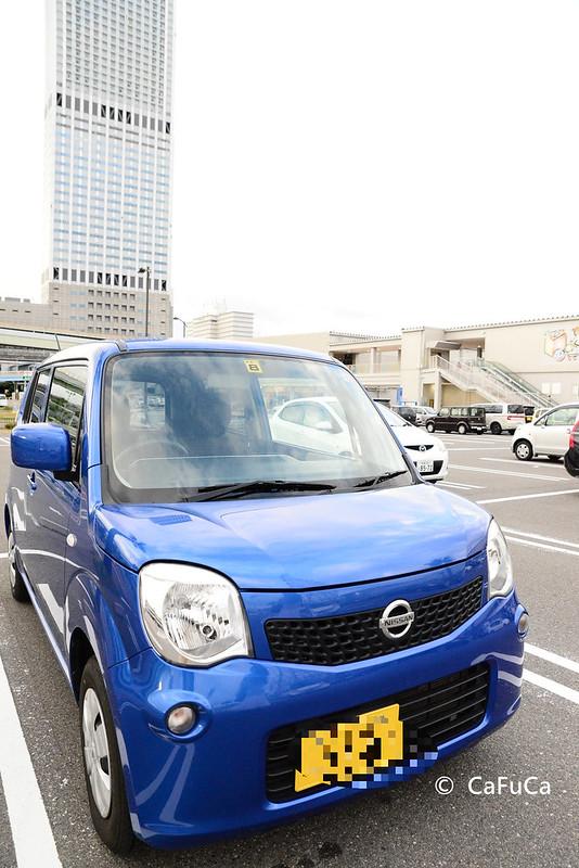 日本租車注意